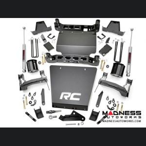 "Chevy Silverado 1500 4WD Suspension Lift Kit w/ Cast Steel Control Arms & Premium N3 Shocks - 7"" Lift"